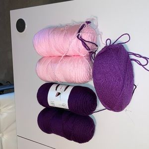 5 New Bundles of Yarn